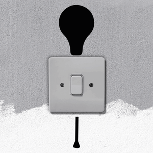 Light Bulb Light Switch Art