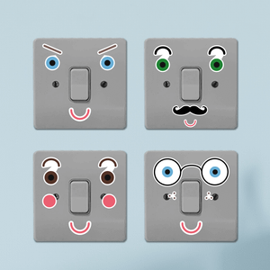 Fun Expressions Light Switch Art