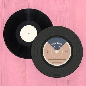 Music Junkie VInyl Record Player Slip Mat