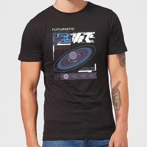 Crystal Maze Futuristic Zone Men's T-Shirt - Black