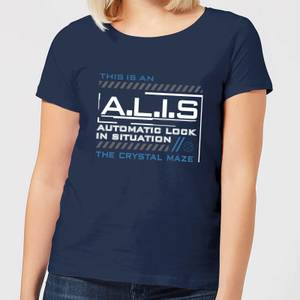 Crystal Maze A.L.I.S. Women's T-Shirt - Navy