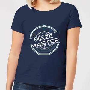 Crystal Maze Maze Master Women's T-Shirt - Navy