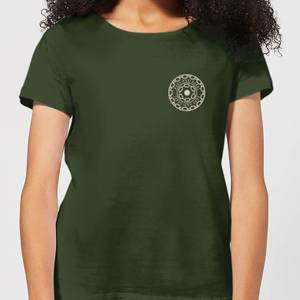 Crystal Maze Fast And Safe Pocket Women's T-Shirt - Forest Green