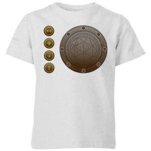 Crystal Maze Industrial Icons Kids' T-Shirt - Grey