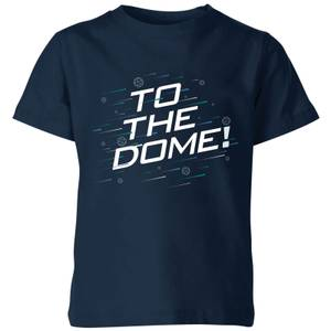 Crystal Maze To The Dome! Kids' T-Shirt - Navy