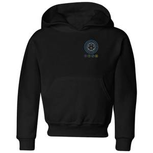 Crystal Maze Crystal Pocket Kids' Hoodie - Black