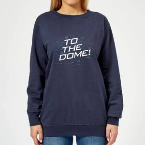Crystal Maze To The Dome! Women's Sweatshirt - Navy