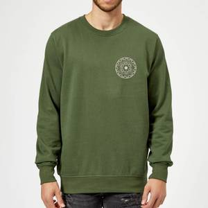 Crystal Maze Fast And Safe Pocket Sweatshirt - Forest Green