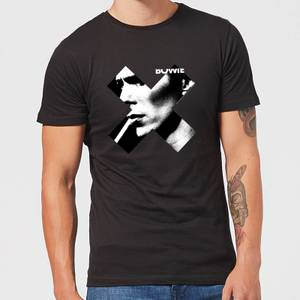 David Bowie X Smoke Men's T-Shirt - Black