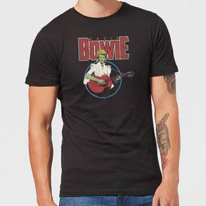 David Bowie Bootleg Men's T-Shirt - Black