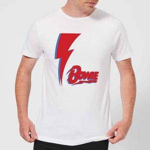 David Bowie Bolt Men's T-Shirt - White