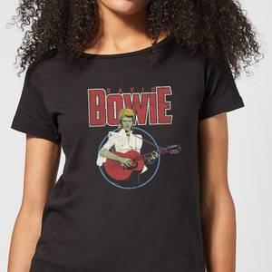 David Bowie Bootleg Women's T-Shirt - Black