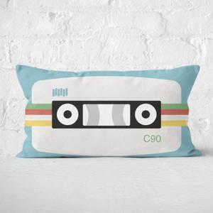Cassette Tape Rectangular Cushion