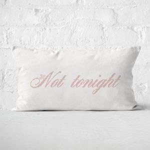 Cheeky Not Tonight Rectangular Cushion