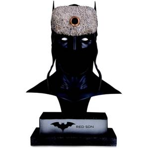 DC Collectibles DC Gallery Red Son Batman Cowl 1:2 Scale Replica Statue