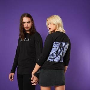 A.C.E Up My Sleeve Unisex Long Sleeve T-Shirt - Black