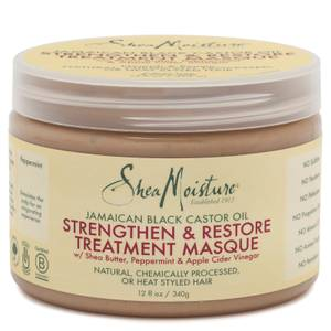SheaMoisture Jamaican Black Castor Oil Strengthen and Restore Treatment Masque 340g