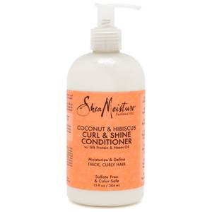 SheaMoisture Coconut & Hibiscus Curl and Shine Conditioner 384ml