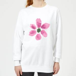 Flower 7 Women's Sweatshirt - White