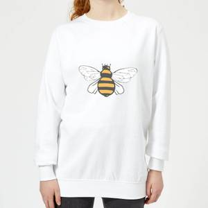 Bee Women's Sweatshirt - White