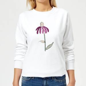 Flower 18 Women's Sweatshirt - White