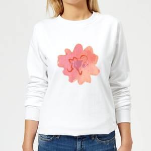 Flower 12 Women's Sweatshirt - White