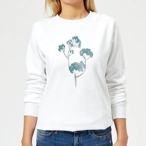 Tree 1 Women's Sweatshirt - White