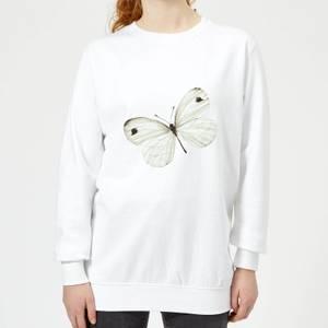 Butterfly 1 Women's Sweatshirt - White