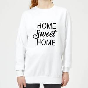 Home Sweet Home Women's Sweatshirt - White