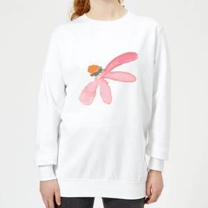 Flower 10 Women's Sweatshirt - White