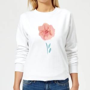 Flower 9 Women's Sweatshirt - White