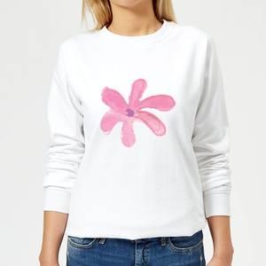 Flower 11 Women's Sweatshirt - White