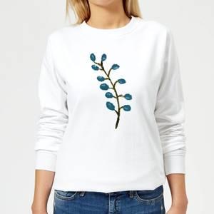 Flower 16 Women's Sweatshirt - White