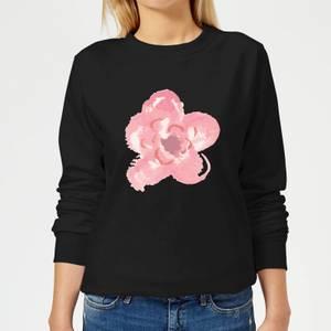 Flower 4 Women's Sweatshirt - Black