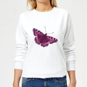 Butterfly 5 Women's Sweatshirt - White