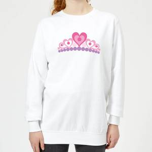 Tiara Women's Sweatshirt - White