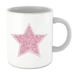 Floral Star Mug