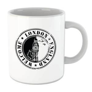 Welcome London England Mug