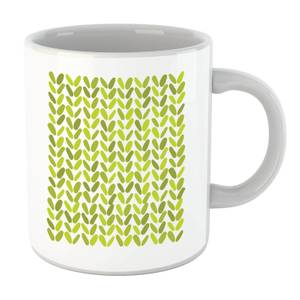 Green Grassy Blobs Mug