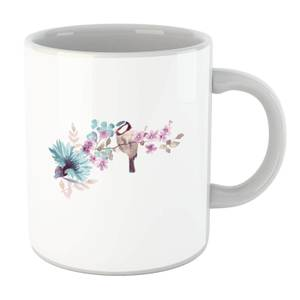 Blue Tit On Floral Branch Mug