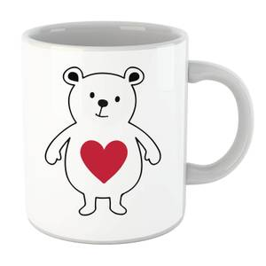 Love Heart Bear Mug