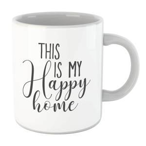 This Is My Happy Home Mug