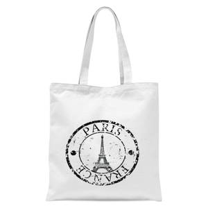 Paris France Tote Bag - White