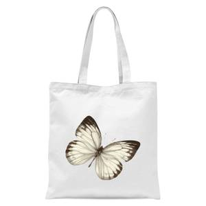 Butterfly 3 Tote Bag - White