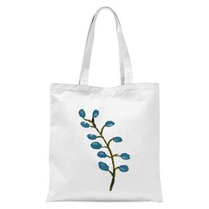 Flower 16 Tote Bag - White