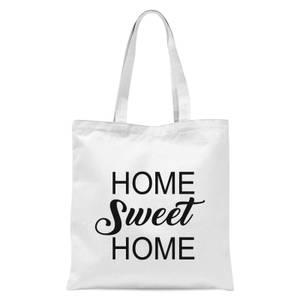 Home Sweet Home Tote Bag - White