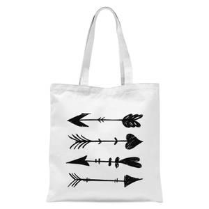 Arrows Tote Bag - White