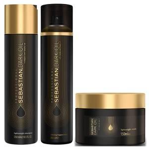 Sebastian Professional Dark Oil Deep Nourishing Bundle (Worth £65.20)
