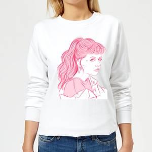 Girl Power Women's Sweatshirt - White