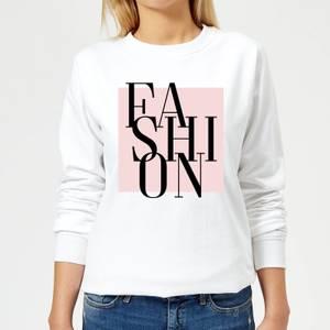 Fashion Women's Sweatshirt - White